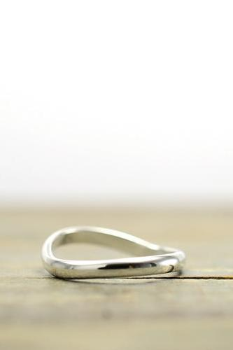 Plain sterling silver thumb ring